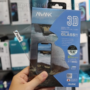 Dán cường lực iPhone 12 Promax ANANK 3D FULL CLEAR